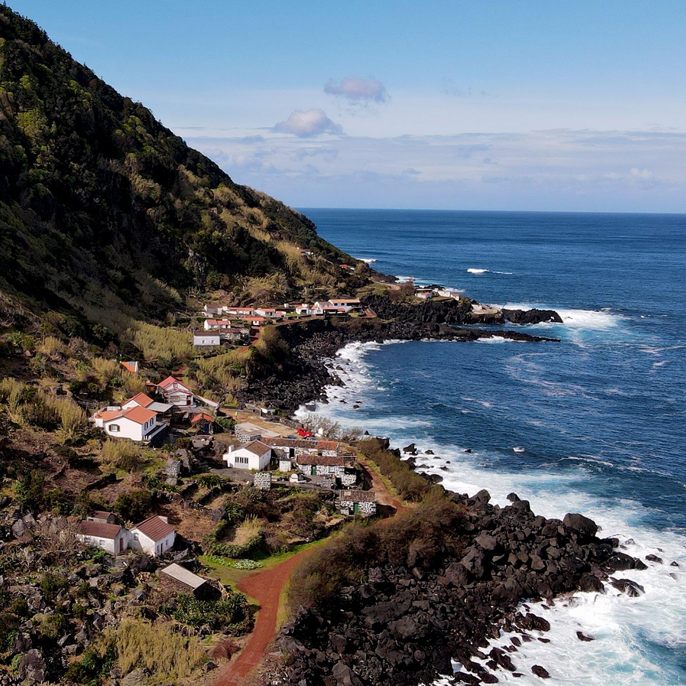 Fajã das Ponta - Norte Pequeno - Ilha de São Jorge - Açores